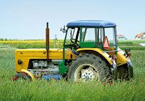 Insurance of farming machinery